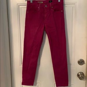 AG Skinny Crop High Rise Jeans🥰